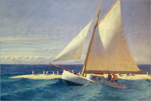Edward Hopper - Segelboot