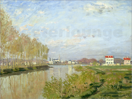 Poster The Seine at Argenteuil