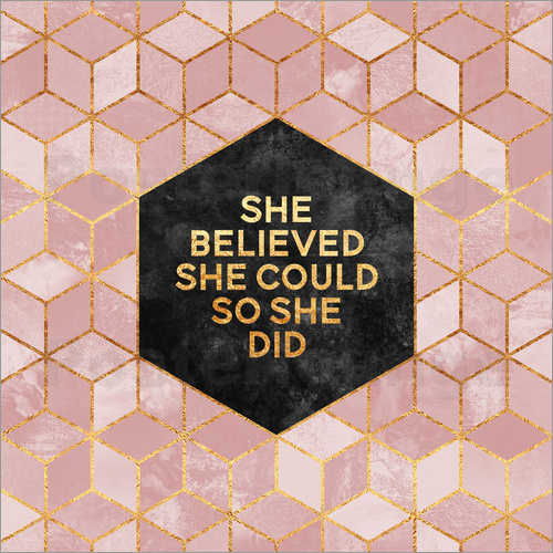 Elisabeth Fredriksson - She believed she could so she did