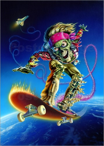 Extreme Zombies - Skateboarder