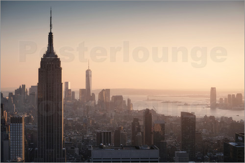 Images Beyond Words - Sonnenuntergang in New York