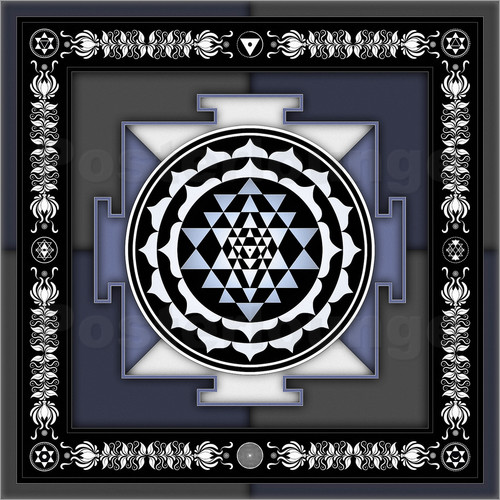 Poster Sri Yantra - Artwork II