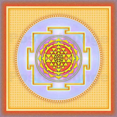 Poster Sri Yantra - Artwork III