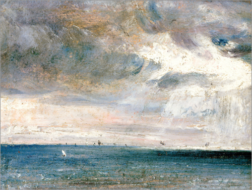 John Constable - Study of Sea and Sky