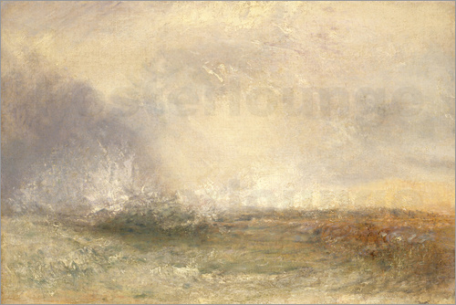 Joseph Mallord William Turner - Stürmische See