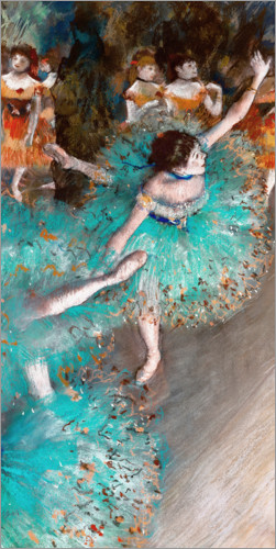 Poster Green Dancers