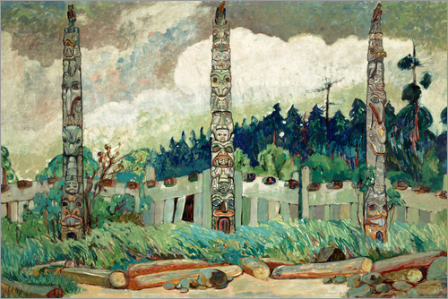 Emily Carr - Tanoo, Queen Charlotte Insel