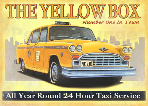 Poster Taxi Box