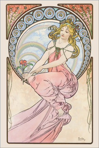 Alfons Mucha - The Arts - Painting