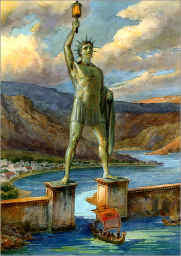 English School - The Colossus of Rhodes
