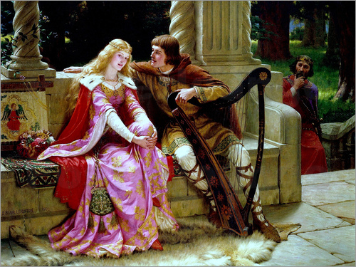 Edmund Blair Leighton - The End of the Song, 1902