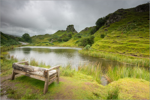 markus ulrich the fairy glen auf der isle of skye schottland poster online bestellen posterlounge. Black Bedroom Furniture Sets. Home Design Ideas