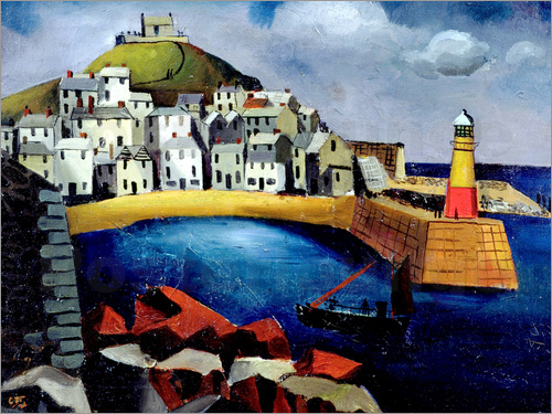 Christopher Wood - The Harbour, 1926