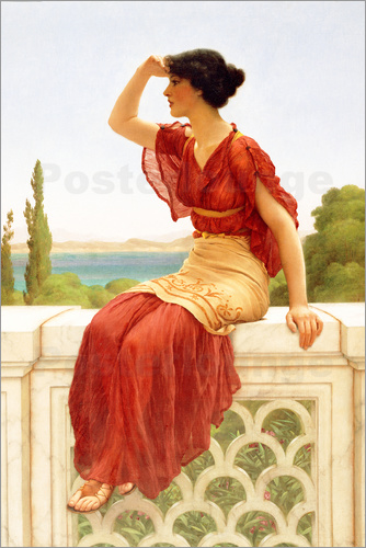 John William Godward - The Signal, 1899