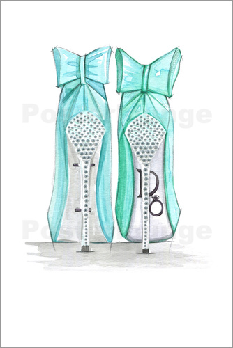 Poster Tiffany's Shoes