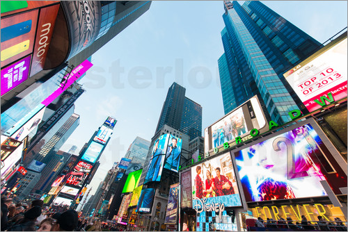 Times Square - beliebtester Ort in New York