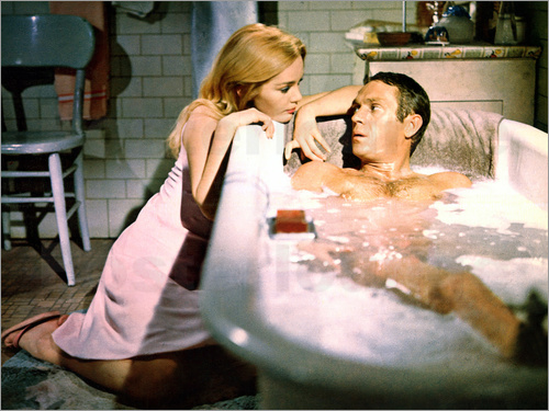 Tuesday Weld und Steve McQueen in Cincinnati Kid