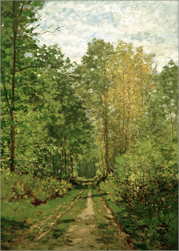 Claude Monet - Waldweg