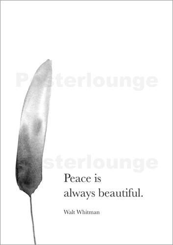 RNDMS - Walt Whitman, Peace is always beautiful