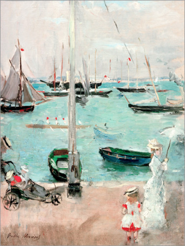 Berthe Morisot - West Cowes, Isle of Wight
