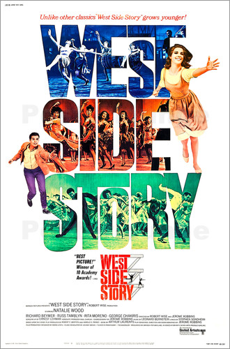 west side story poster online bestellen posterlounge. Black Bedroom Furniture Sets. Home Design Ideas