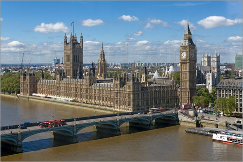 Walter Rawlings - Westminster Bridge mit Houses of Parliament