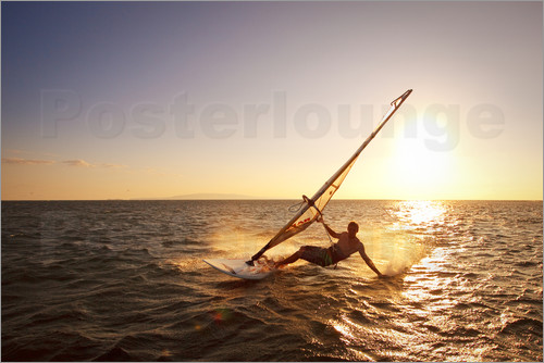 MakenaStockMedia - Windsurfer auf Hawaii