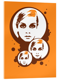 Acrylglasbild  Twiggy Mathmos Orange - JASMIN!