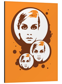 Alubild  Twiggy Mathmos Orange - JASMIN!