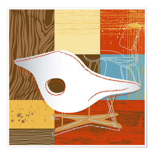Premium-Poster Lounge Chair IV