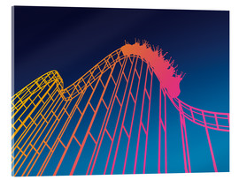 Acrylglas  rollercoaster - David Fairfield