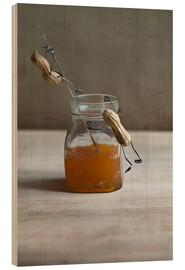 Holzbild  Simple Things - Marmelade - Nailia Schwarz