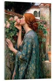 Acrylglasbild  Die Seele der Rose - John William Waterhouse