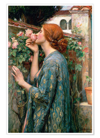 Poster  Seele der Rose - John William Waterhouse