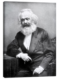 Leinwandbild  Karl Marx - English Photographer
