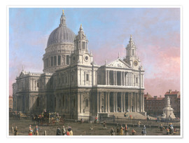 Premium-Poster St. Pauls Kathedrale