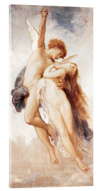 Acrylglas  Amor und Psyche - William Adolphe Bouguereau