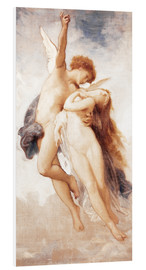 Hartschaumbild  Amor und Psyche - William Adolphe Bouguereau