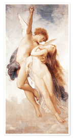 Premium-Poster  Amor und Psyche - William Adolphe Bouguereau