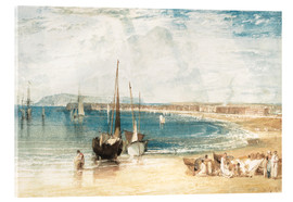 Acrylglasbild  Weymouth - Joseph Mallord William Turner