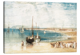 Leinwandbild  Weymouth - Joseph Mallord William Turner