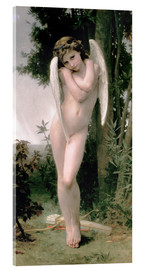 Acrylglasbild  Cupido - William Adolphe Bouguereau