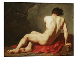Hartschaumbild  Patrokles - Jacques-Louis David