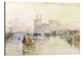 Alubild  Schloss Carnarvon - Joseph Mallord William Turner