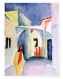 August Macke - Gasse in Tunis