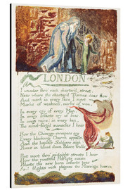 Alubild  London - William Blake
