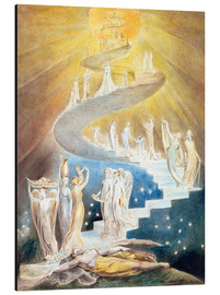 Alu-Dibond  Jakobsleiter - William Blake