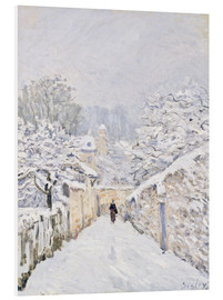 Forex  Schnee in Louveciennes - Alfred Sisley