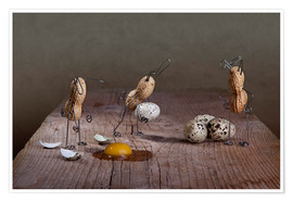 Poster  Simple Things - Ostern - Nailia Schwarz