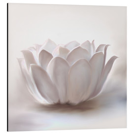 Alubild  White Lotus - Christine Ganz